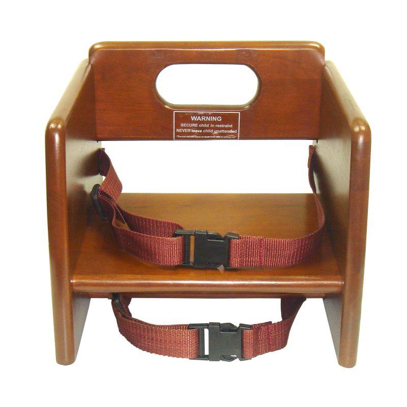 Booster Seat, Wooden, Walnut