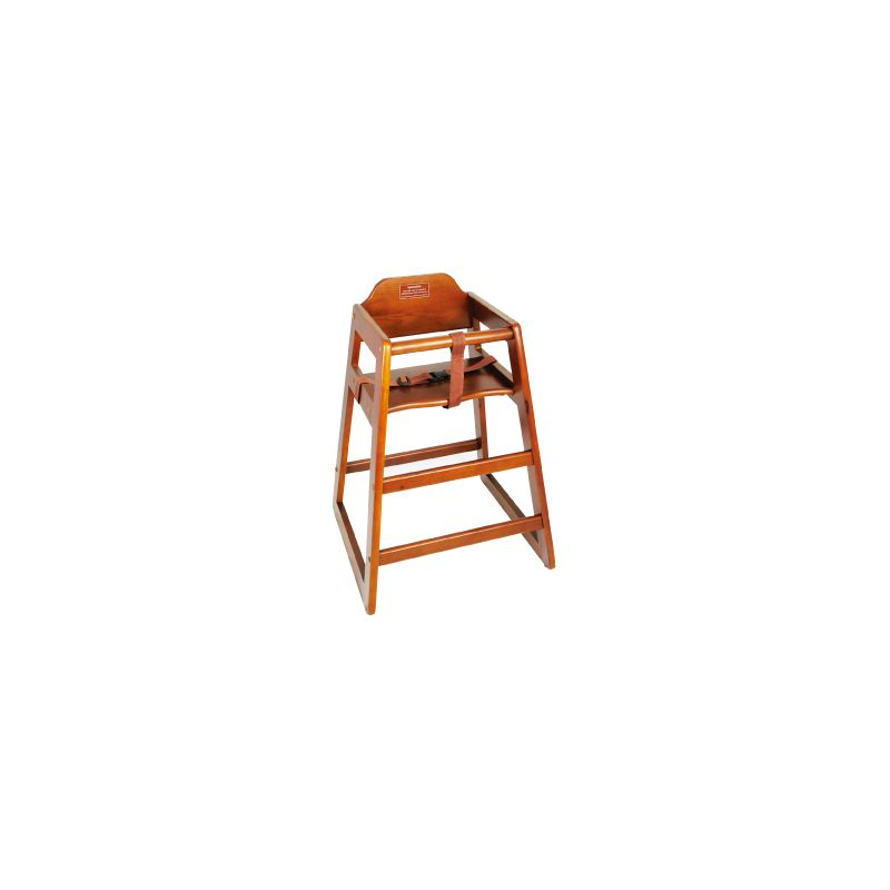 Walnut Wood High Chair, KD