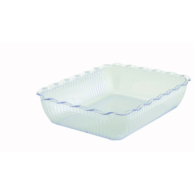 Deli Crock, 13 inches x 10 inches x 3 inches, Clear