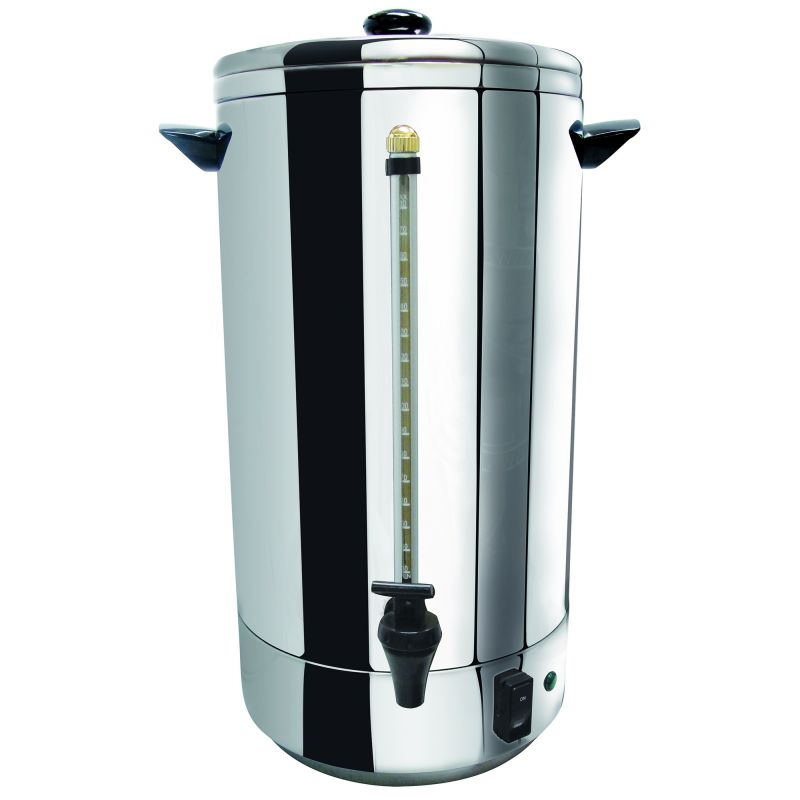 Stainless Steel Double-Wall Coffee Urn, 72 Cups (4.5 Gallons)