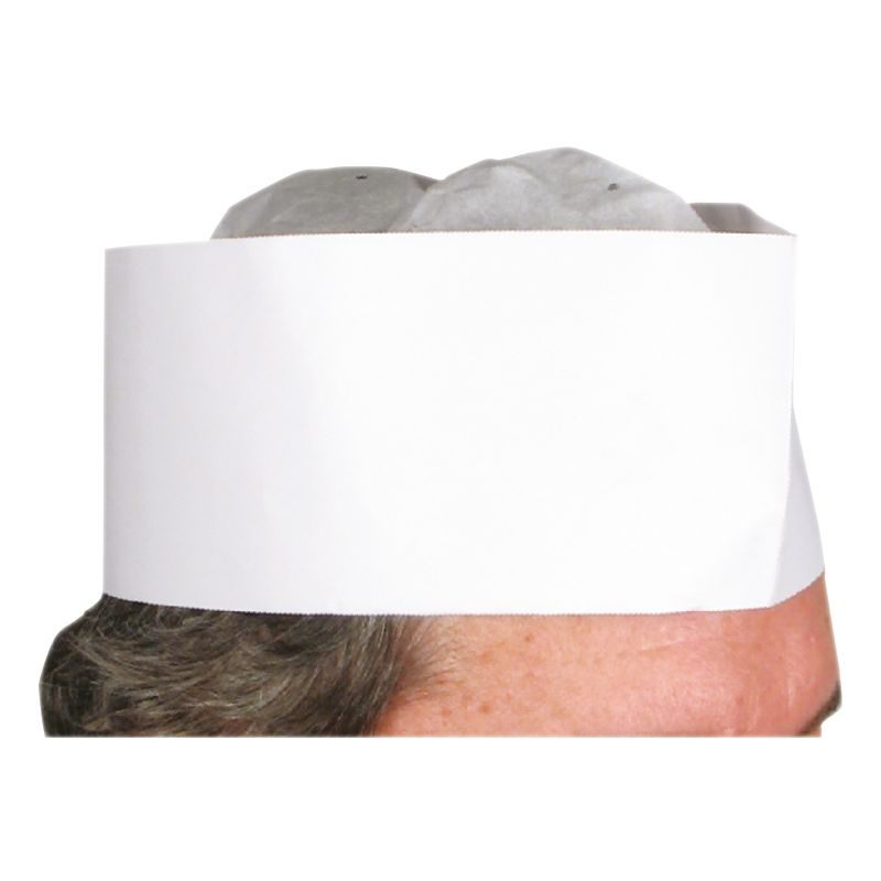 Disposable Chef Hats, 3 inches, 100pcs/box