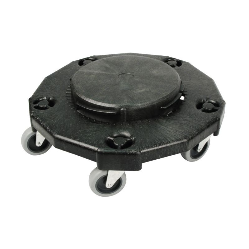 Round Trash Can Dolly, 18 inches, Extra Heavy-duty