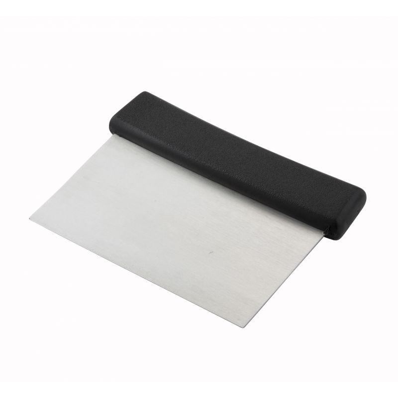 Dough Scraper, Plastic Hdl, S/S Blade