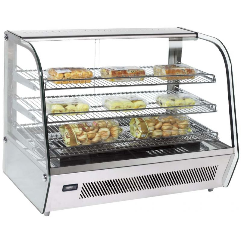 Heated Display Case, countertop