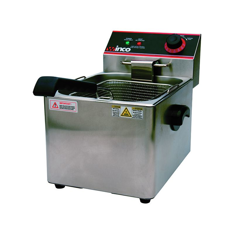Electric Fryer, Single Well, 16Lbs Capacity, 120V