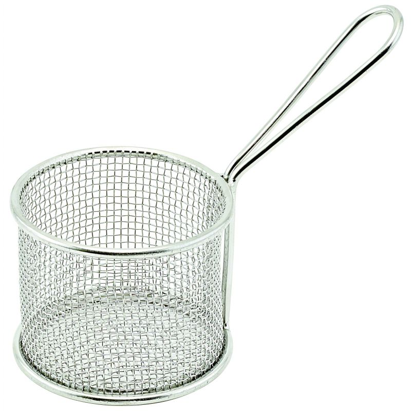 Mini Fry Basket - Round, 3-3/4 inches Dia x 2-7/8 inches