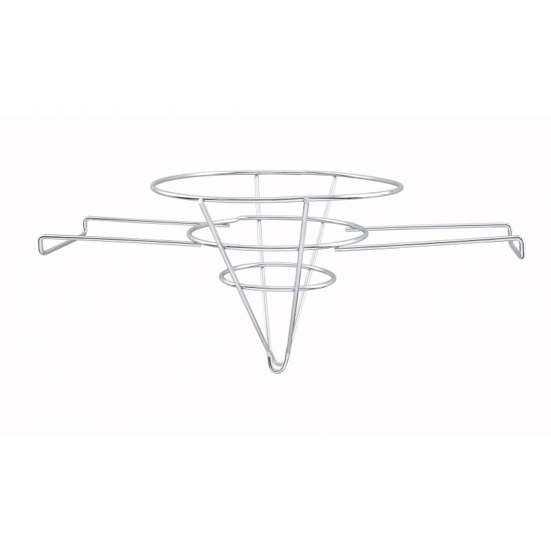 Fryer Filter Stand, Chrome Plated