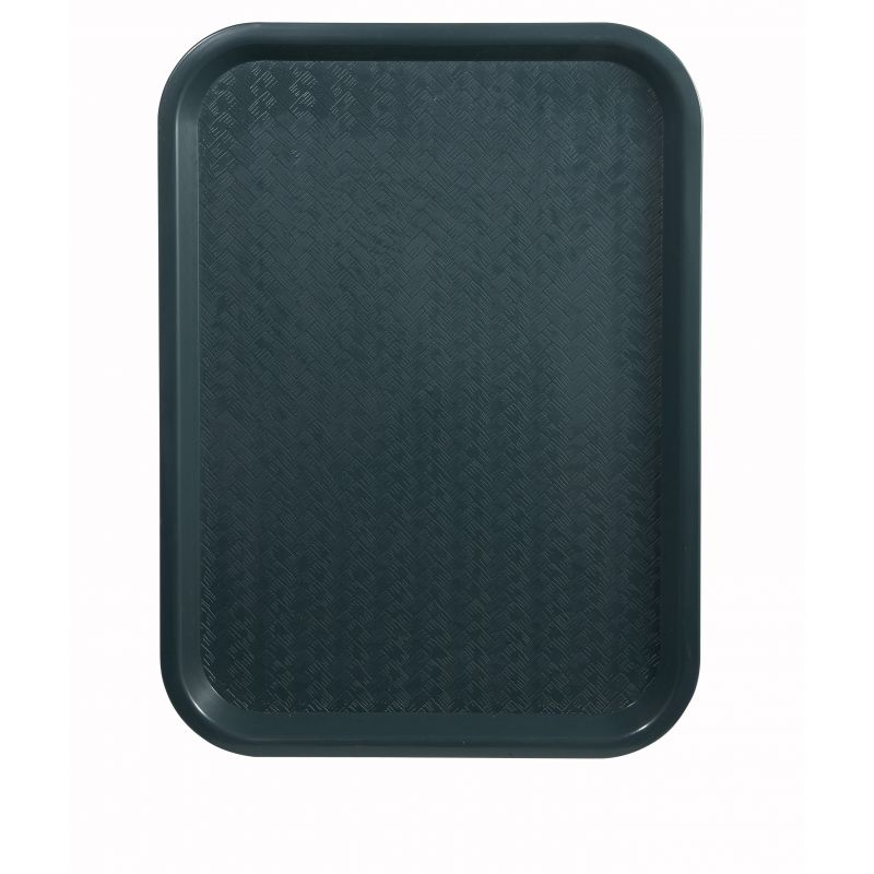 Fast Food Tray, 12 inches x 16 inches, Green