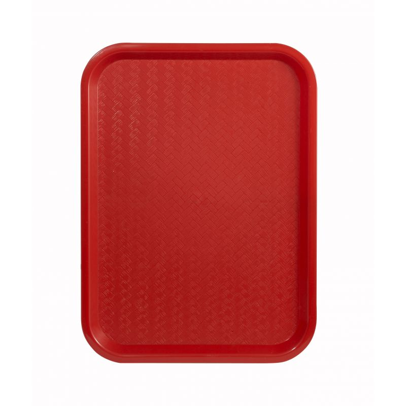 Fast Food Tray, 12 inches x 16 inches, Red