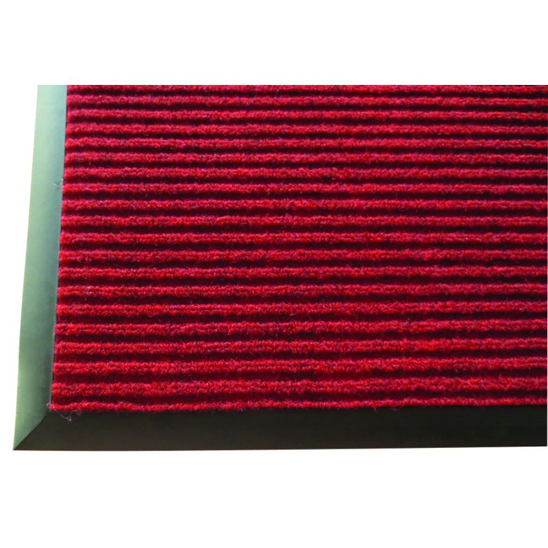 3' x 10' Carpet Floor Mat, Burgundy