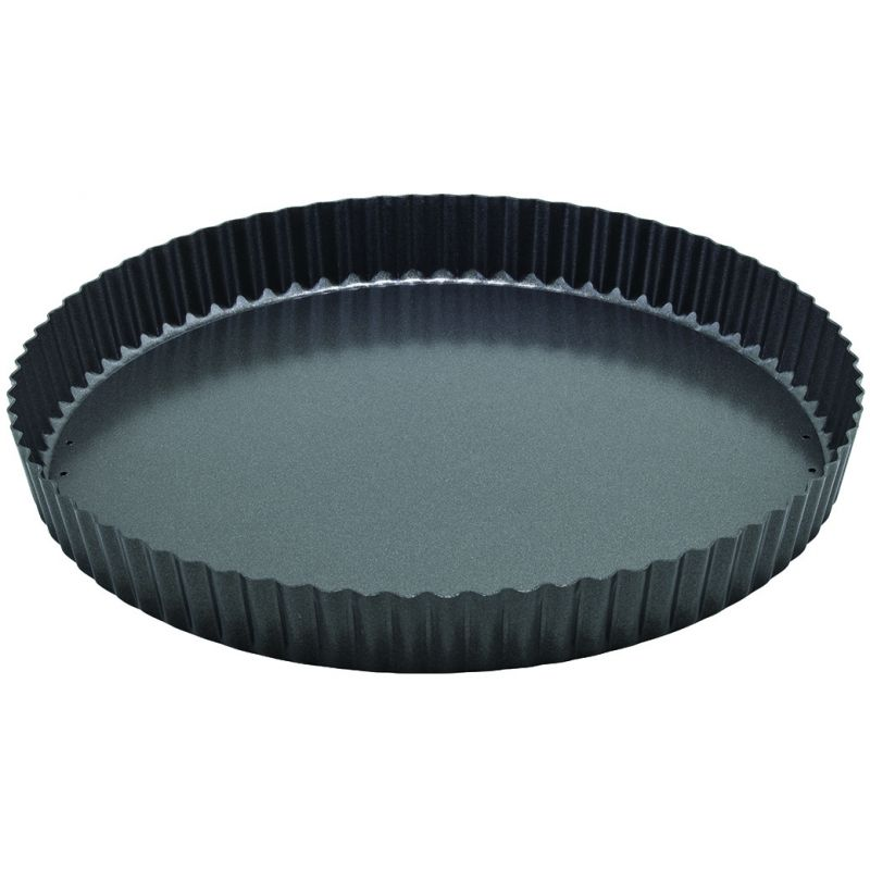 12 inches Quiche Pan, Non-stick, Carbon Steel