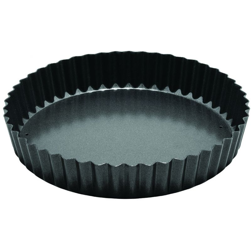 8 inches Quiche Pan, Non-stick, Carbon Steel
