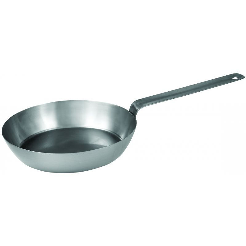 French Style Fry Pan 11 inches, Steel, 2.5MM