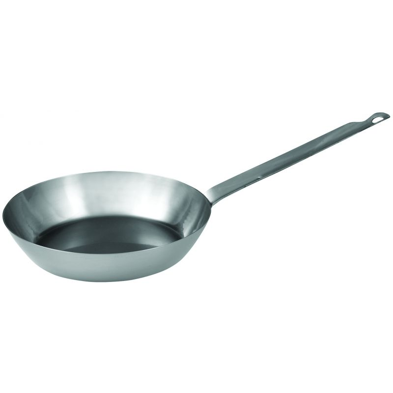 French Style Fry Pan 7-7/8 inches, Steel, 2.5MM