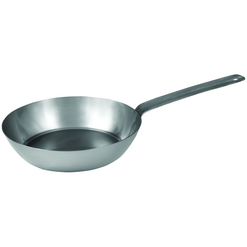 French Style Fry Pan 8-3/4 inches, Steel, 2.5MM