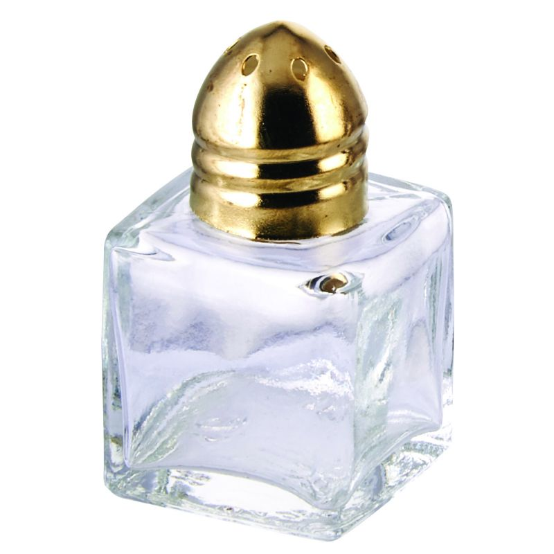 Square Shaker, 1/2oz, Brass