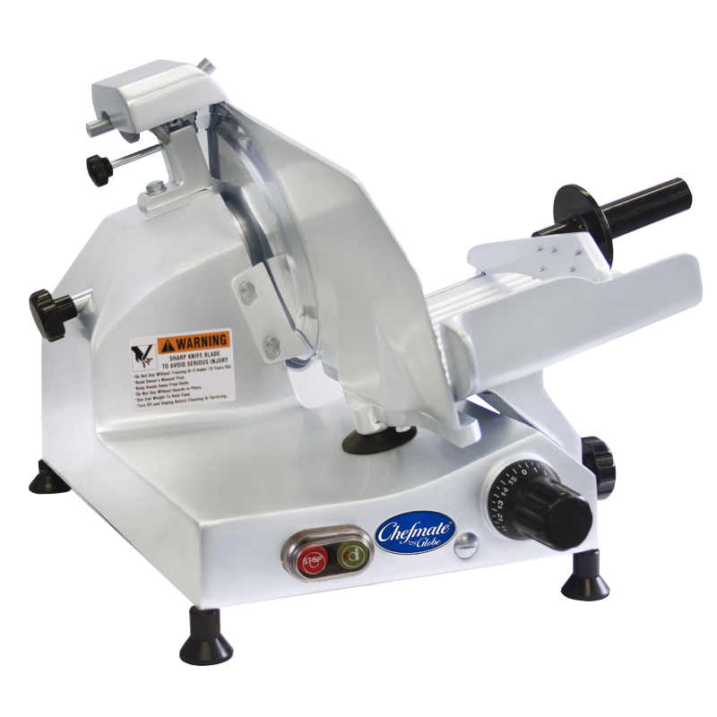 Globe Chefmate Compact Food Slicer - 9 inches