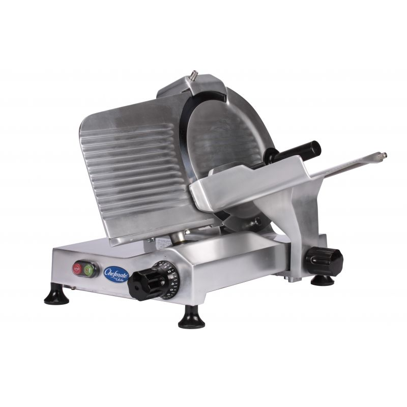 Globe Chefmate Compact Food Slicer - 12 inches
