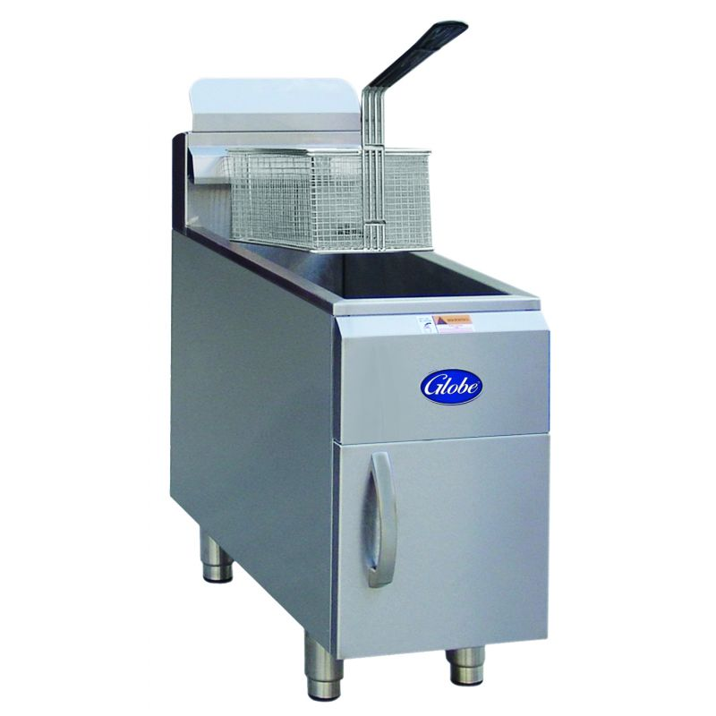 Globe Gas Countertop Fryer - 15lb