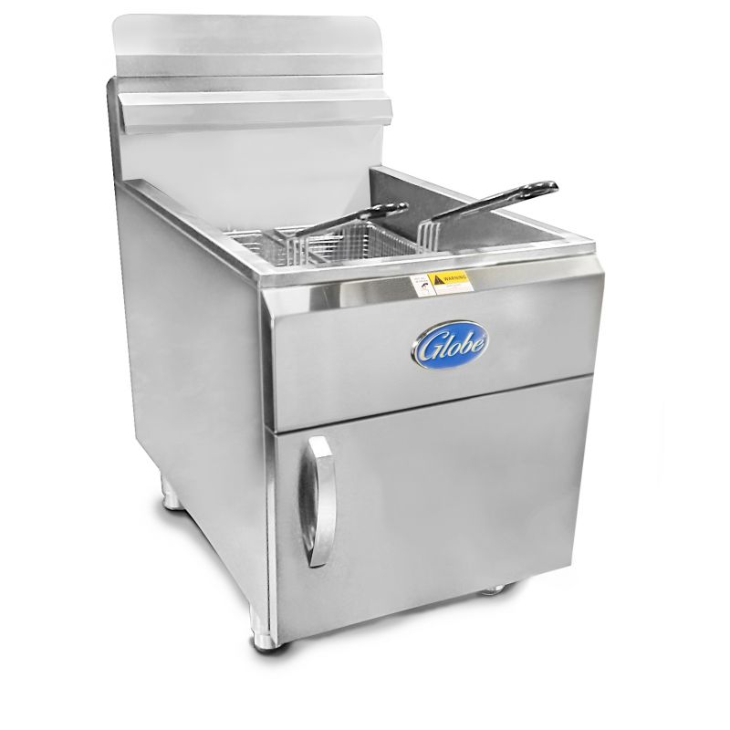 Globe Gas Countertop Fryer - 30lb