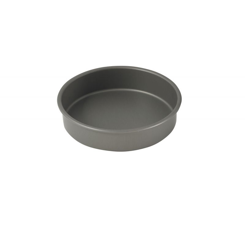 8 inches Round Cake Pan, Anodized Alu, 2 inchesH