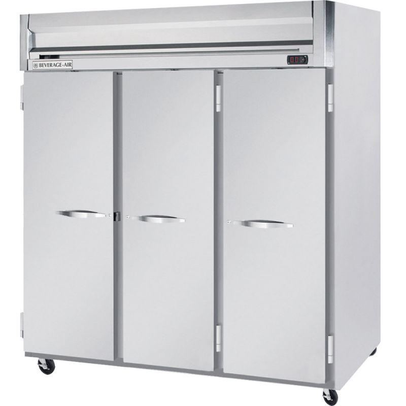 Horizon Series Refrigerator, reach-in, three-section