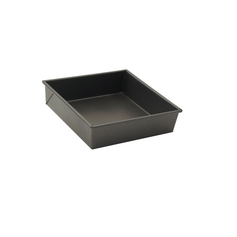 Square Cake Pan, 8 inches x 8 inches x 2-1/4 inches, Aluminized Steel