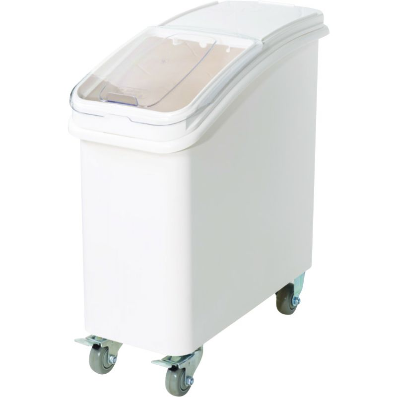 21gal Ingredient Bin w/Brake Casters and Scoop