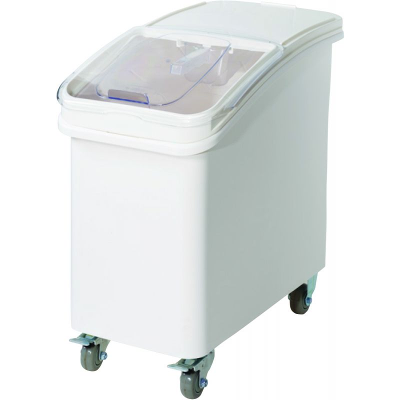 27gal Ingredient Bin w/Brake Casters and Scoop