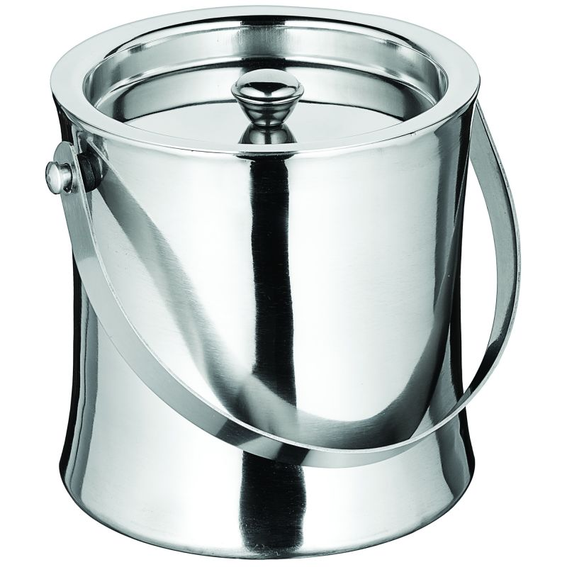 Double-Wall Ice Bucket, 60 oz., S/S