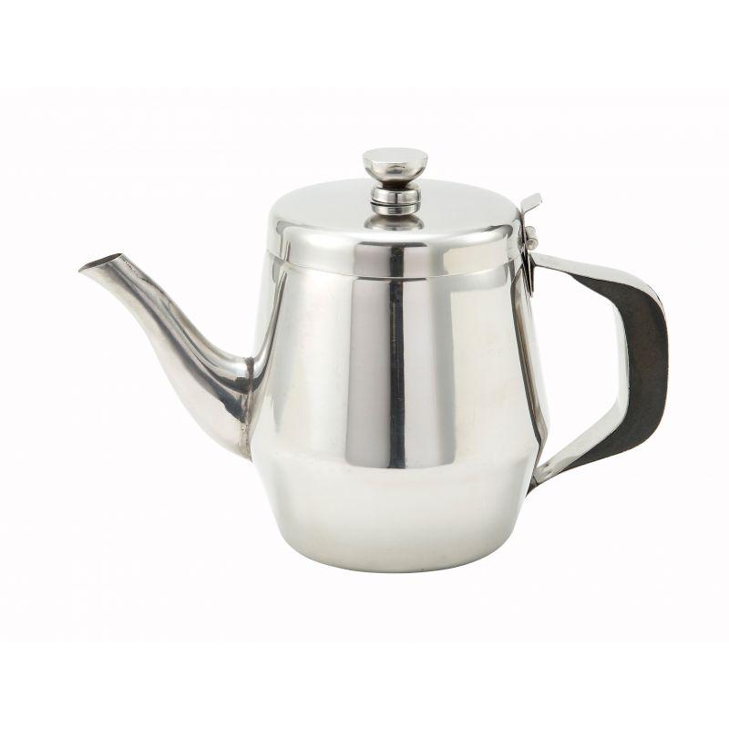 32oz Teapot, Gooseneck, S/S