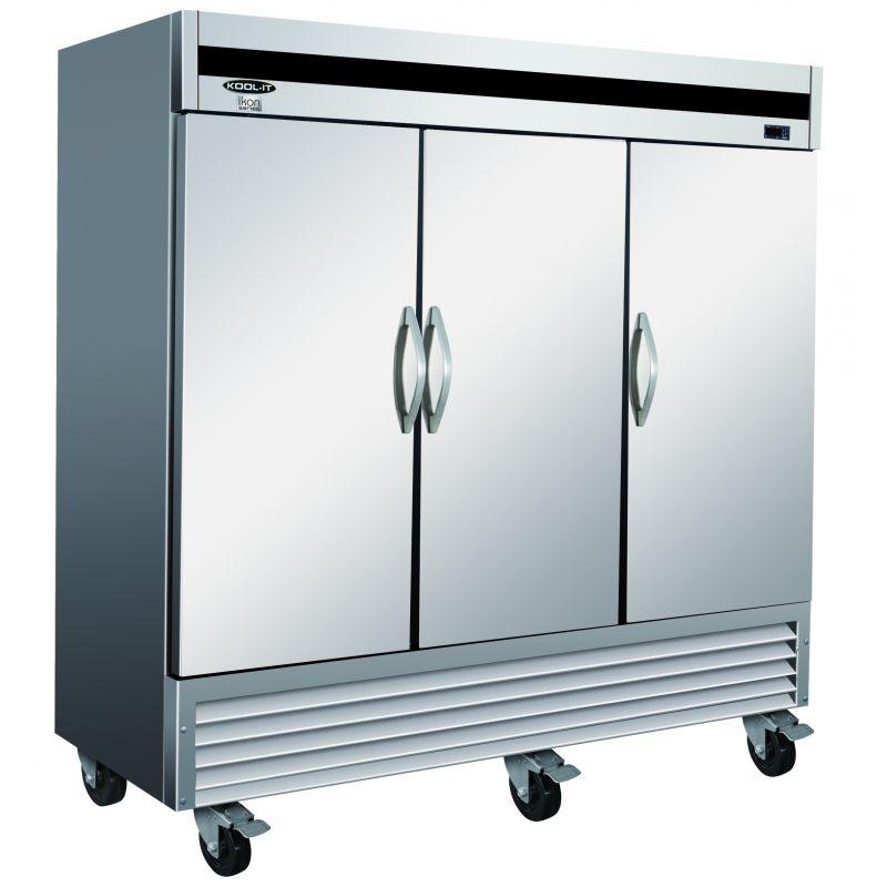 IKON-Series Reach-In Freezer - three-section