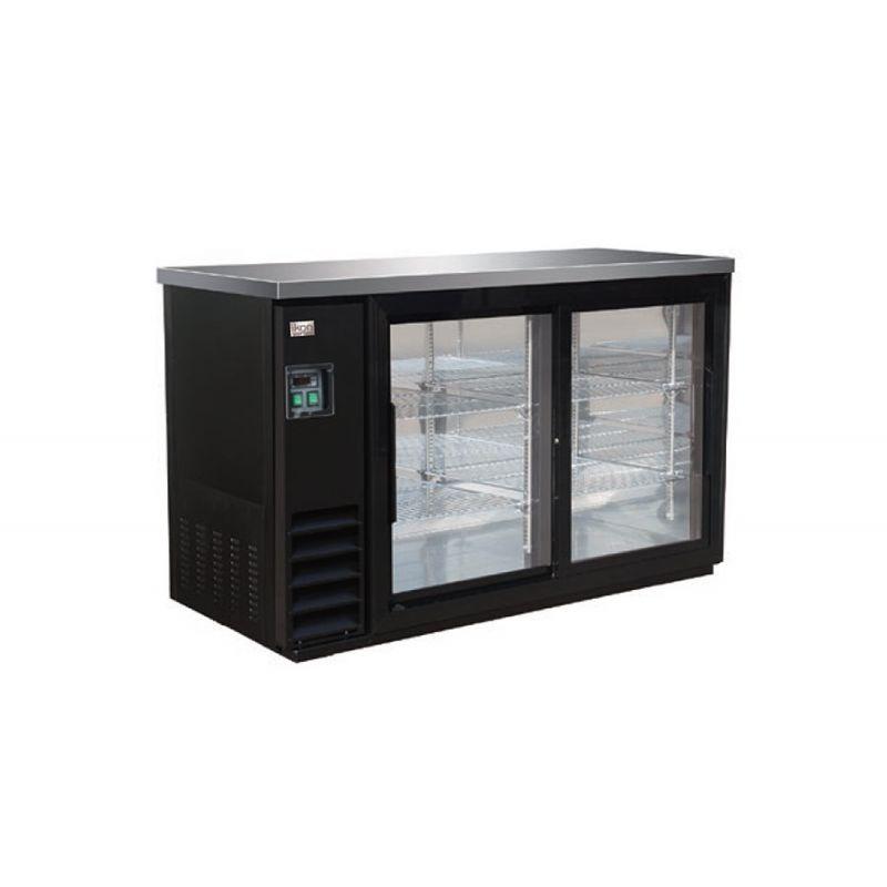 Back Bar Refrigerator Sliding Doors