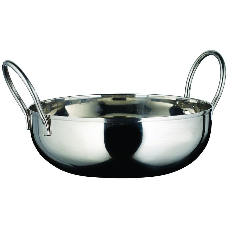 Kady Bowl with Welded Handles, S/S, 28 oz., 6 inches Dia., 1.5 inches H