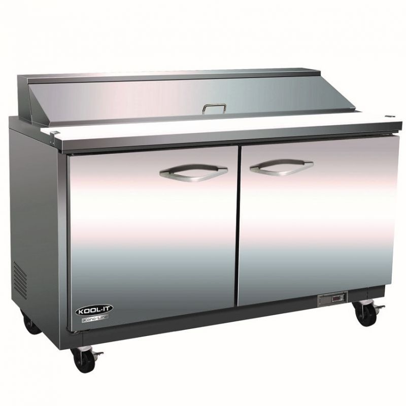 Sandwich/Salad Top Reach-In Refrigerator - two-section