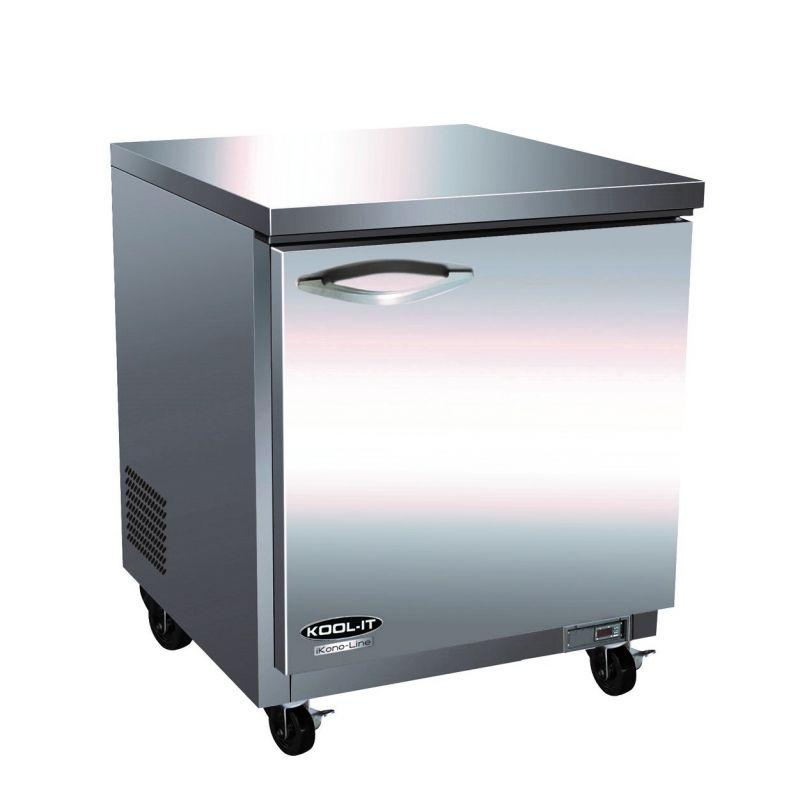 Undercounter Reach-In Freezer - three-section