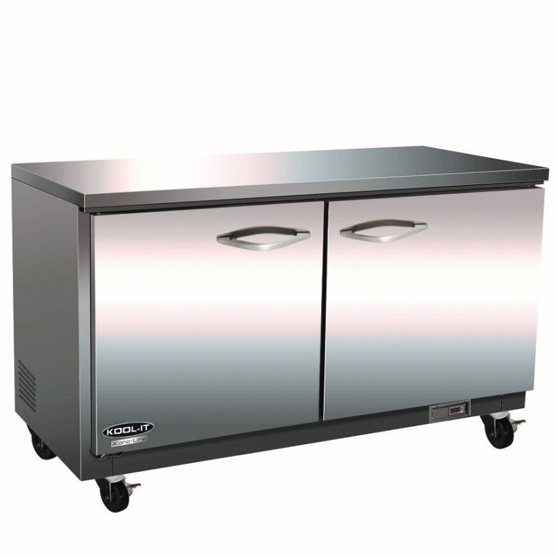 Undercounter Reach-In Freezer - two-section