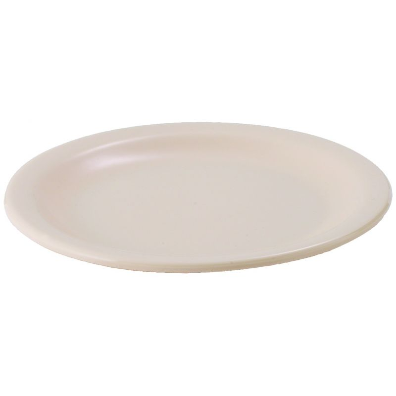 6-1/2 inches Melamine Round Plates, Tan