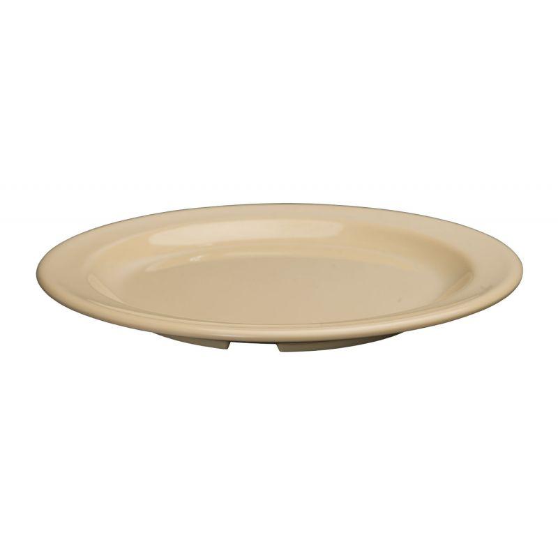 7-1/2 inches Melamine Round Dessert Plates, Tan