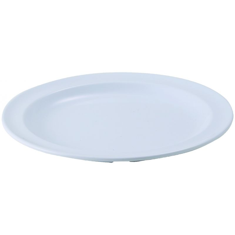 8 inches Melamine Round Plates, Tan