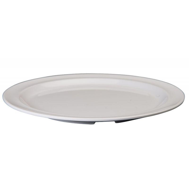 9 inches Melamine Round Plates, White