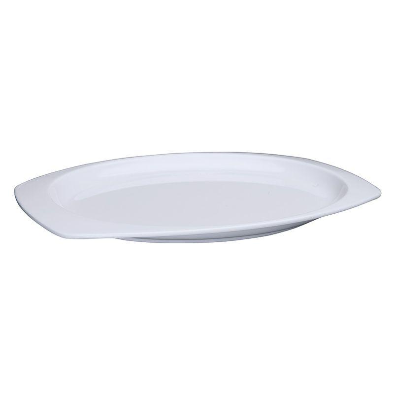 11-1/2 inches x 7-1/2 inches Melamine Rectangular Platters, White