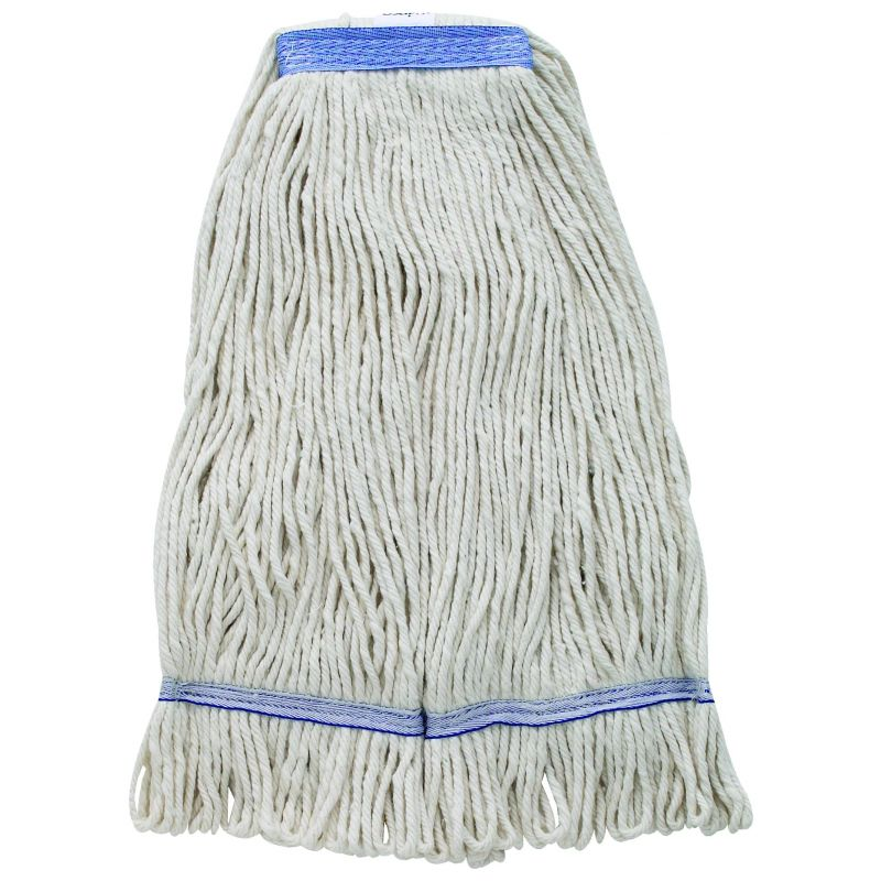 Mop Head, White Yarn, 24oz, 600g, Looped End