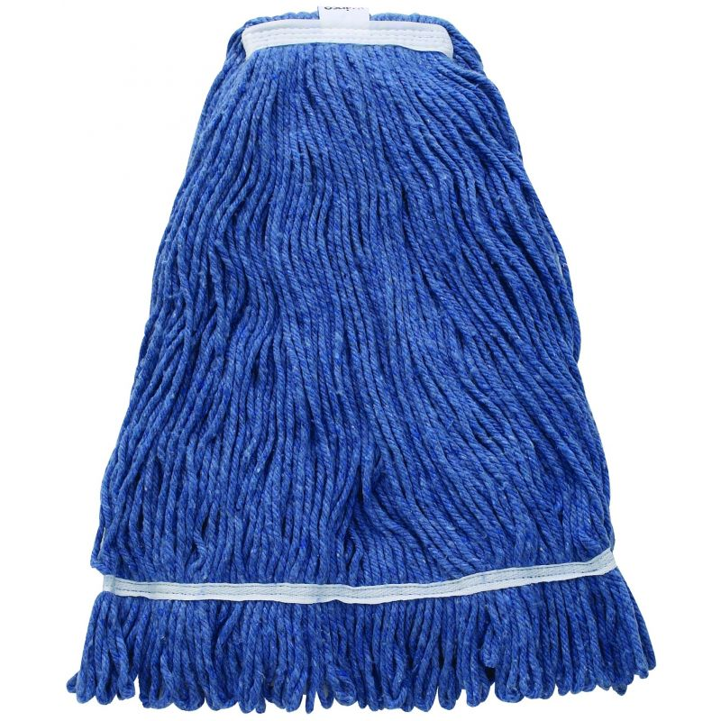 Mop Head, Blue Yarn, 32oz, 800g, Looped End