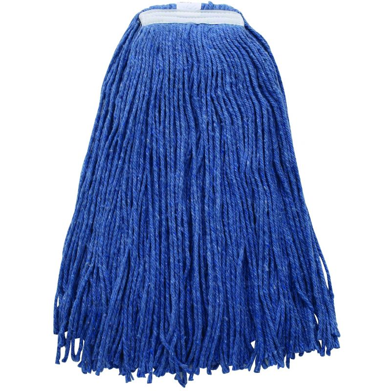 Mop Head, Blue Yarn, 32oz, 800g, Cut Head