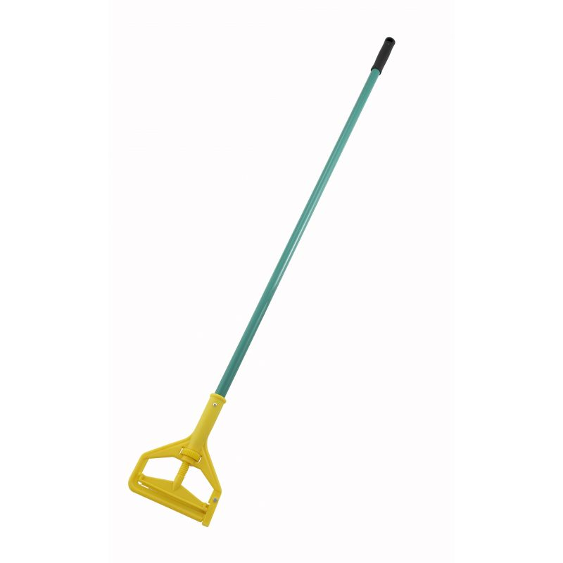 Mop Handle, 57 inches, Side Release, Plastic