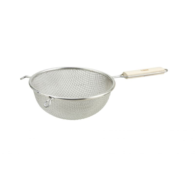 6-1/4 inches Double Mesh Strainer, Fine, Tin