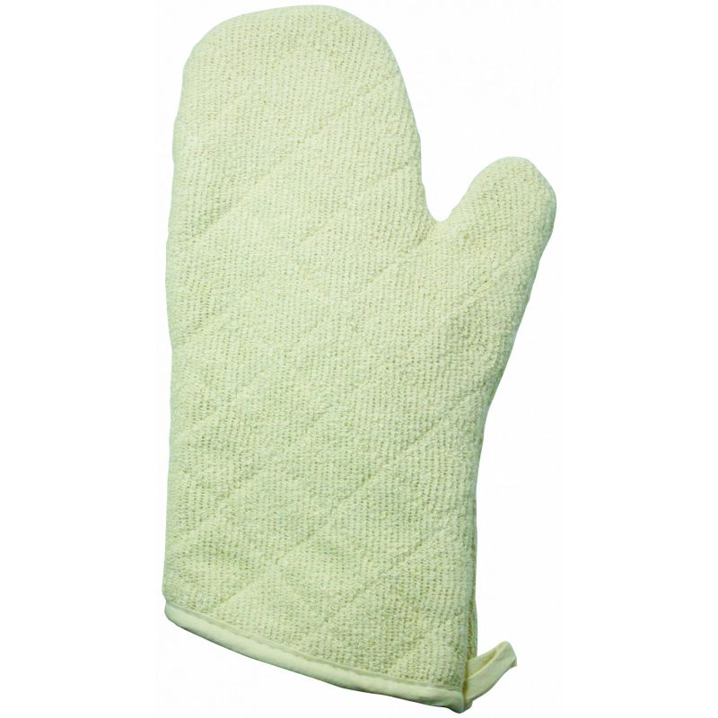 13 inches Oven Mitt, Terry w/Silicone Lining
