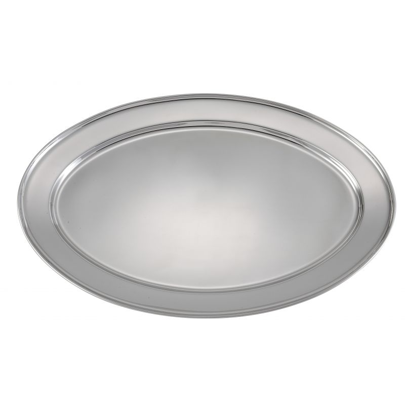 Serving Platter, Oval, 20 inchesx 13-3/4 inches, S/S