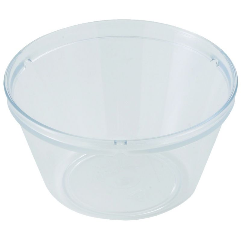 Fruit Bowl, 8oz, PC, Clear